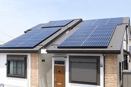 太陽電池パネルの設置